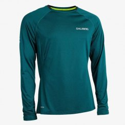 Salming Run Balance LS Tee Men Deep Teal