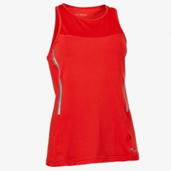 Salming Run Laser Tank Women Poppy Red Melange